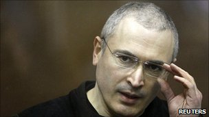 Mikhail Khodorkovsky in court, 27 Dec 10