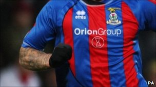 Inverness Caledonian Thistle player