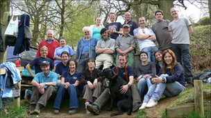 Surrey Wildlife Trust volunteers
