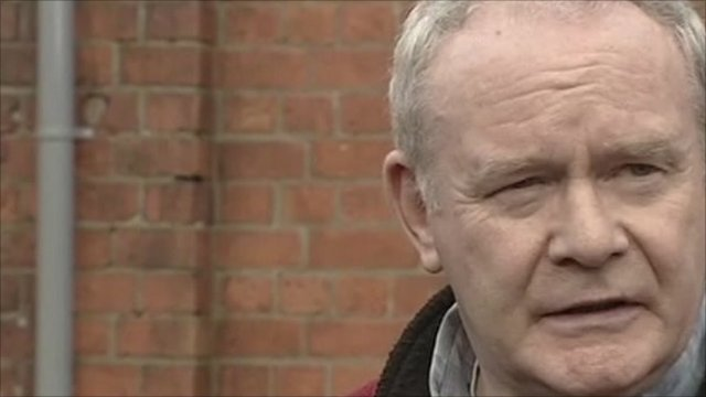 The Deputy First Minister of Northern Ireland, Martin McGuinness