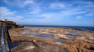 Coastline at Amble, Northumberland