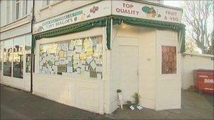 Tony Magdi's shop in Hove