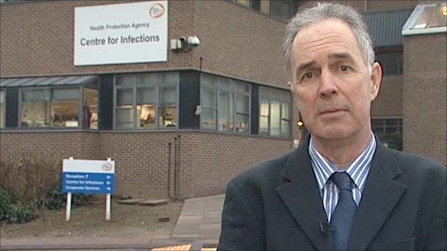Health Protection Agency's Professor John Watson