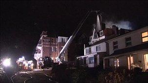 Fortfield Hotel fire