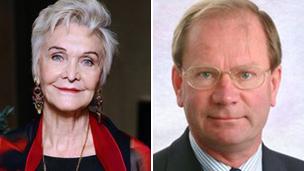 Sheila Hancock and Professor Stephen Holgate