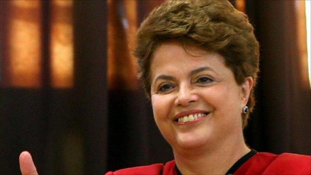 Dilma Rousseff will be inaugurated in Brasilia