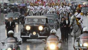 Parade at Brasilia