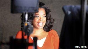Undated photo of Oprah Winfrey