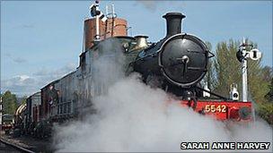 SDR steam train