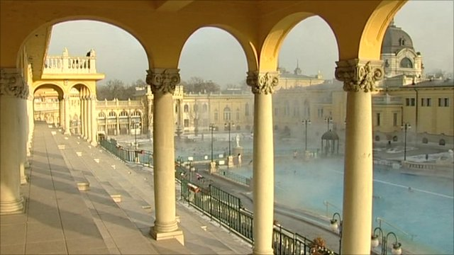 Budapest's Szechenyi Baths, which is hoping to benefit from Hungary's increased exposure in Europe