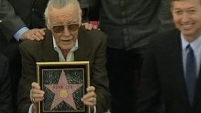 Stan Lee gets star on Walk of Fame