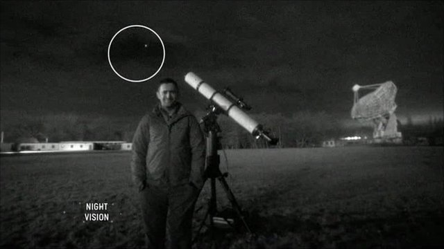 Astronomer Mark Thompson