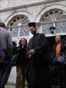 Greek Orthodox priest in Istanbul
