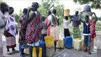 People fetch water in South Sudan (Photo: Rachel Palmer/Save the Children)
