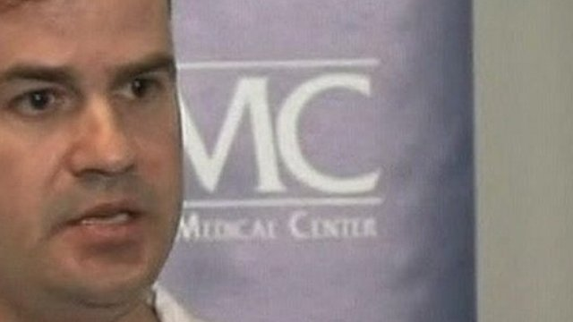 Chief neurosurgeon Michael Lemole