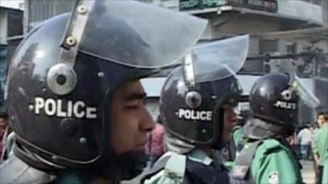 Bangladeshi policeman