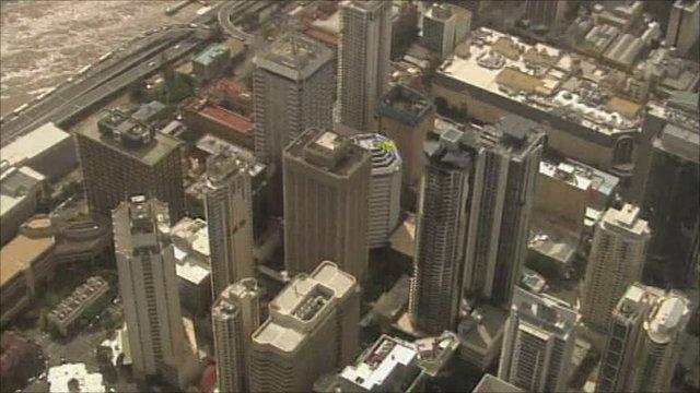 Brisbane's central business district