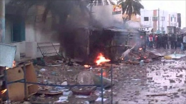 More unrest on streets of Tunis