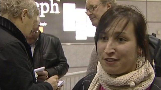 British tourists return to the UK