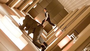 A rotating corridor was constructed for Inception's hotel action scenes