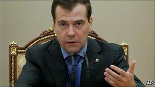 Dmitry Medvedev (13 January 2011)