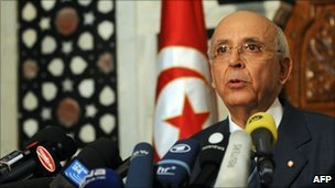 PM Mohamed Ghannouchi