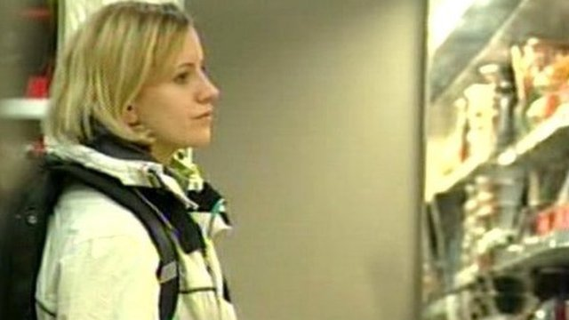 Still from Crimewatch reconstruction of Jo Yeates's final movements