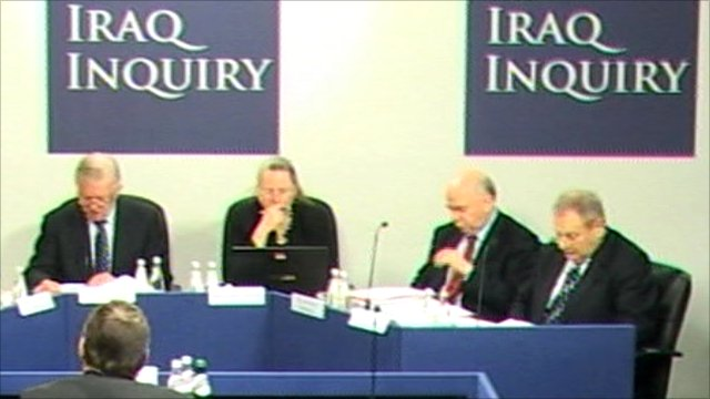 Panel of Iraq inquiry