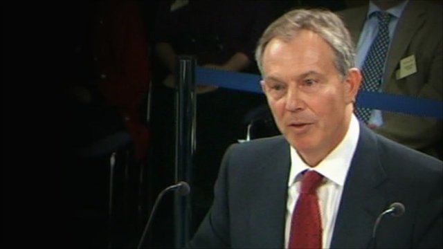 Tony Blair last gave evidence almost a year ago