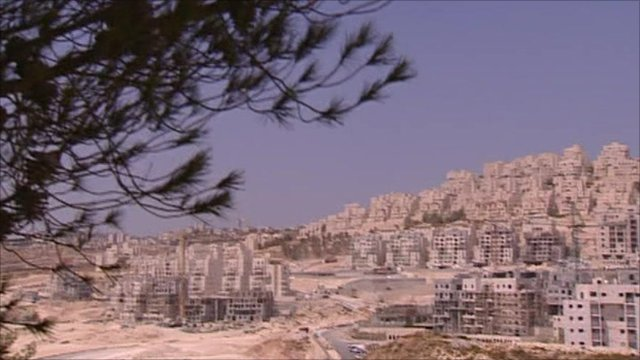 Israel has been building new settlements on occupied Palestinian land