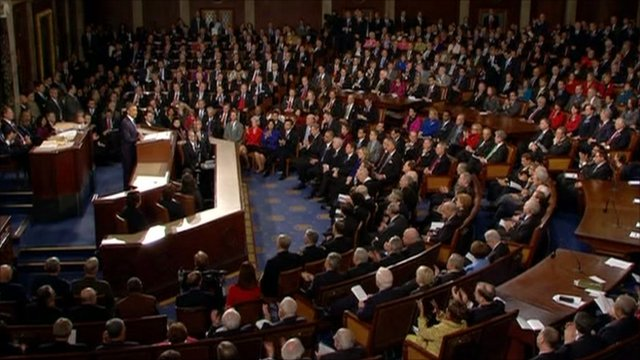 Obama gives State of the Union speech