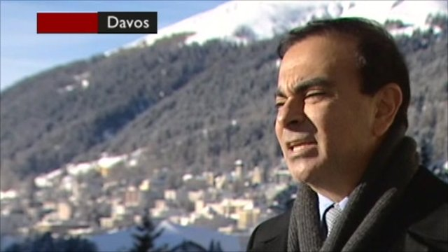 CEO of Renault Nissan, Carlos Ghosn