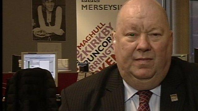 Council leader Joe Anderson