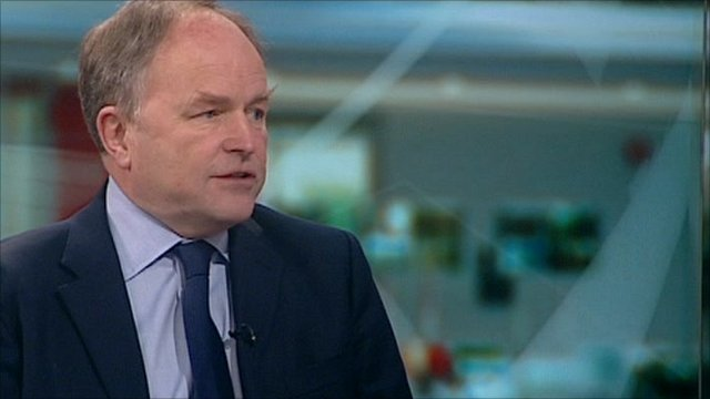Clive Anderson, president of the Woodland Trust