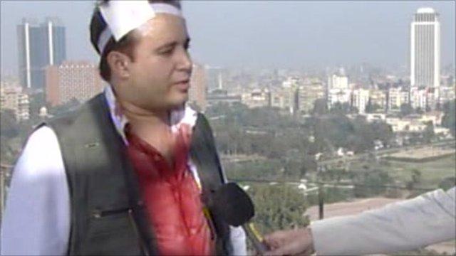 Assad Sawey, BBC Arabic reporter