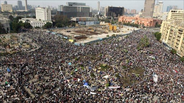 Tahrir Square demo