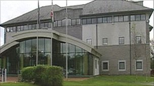 Anglesey council offices