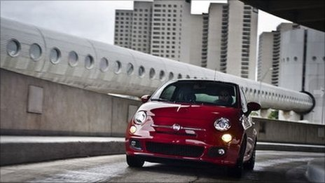 Fiat 500 in the US