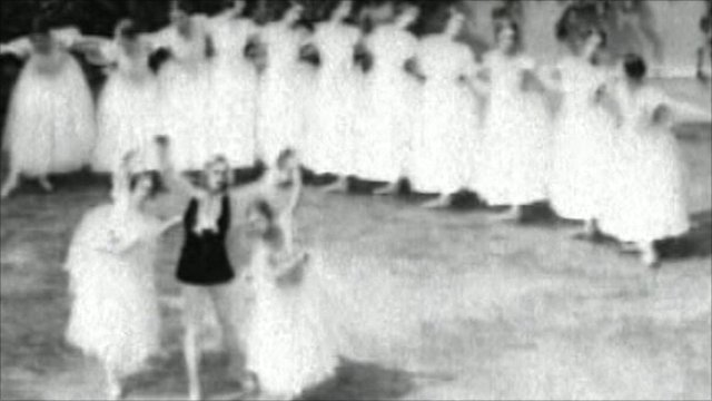 Ballets Russes archive footage