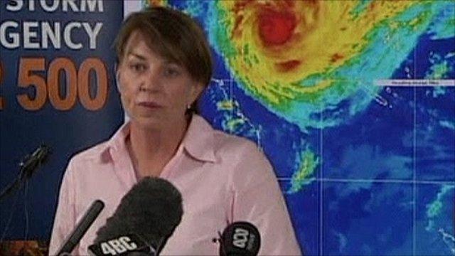Queensland Premier Anne Bligh