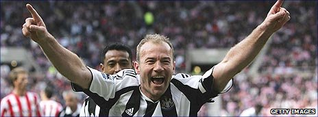 Shearer ny tranare i newcastle