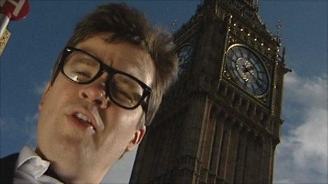 Nick Watt in Westminster