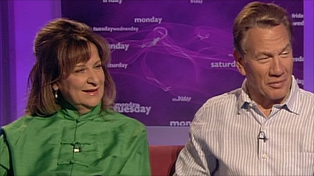 Helena Kennedy and Michael Portillo