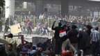 Clashes in Cairo. Photo: 3 February 2011