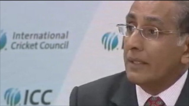 The Chief Executive of the International Cricket Council, Haroon Lorgat