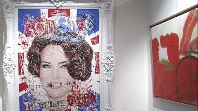 Artwork featuring Kate Middleton by artist Zoobs