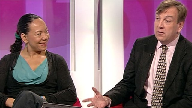 Oona King and John Whittingdale