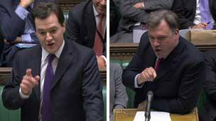 George Osborne and Ed Balls