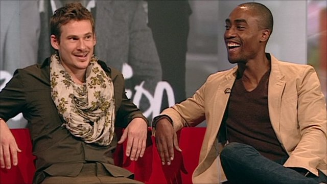 Lee Ryan and Simon Webbe
