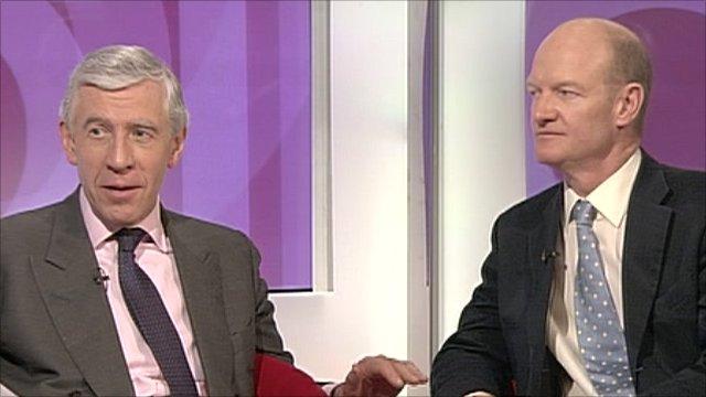 Jack Straw and David Willetts